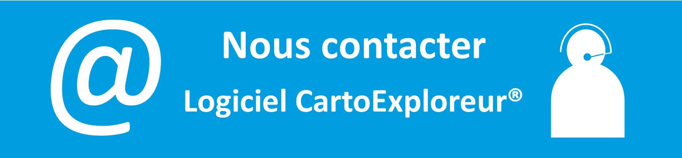 Nous contacter logiciel CartoExploreur Bayo