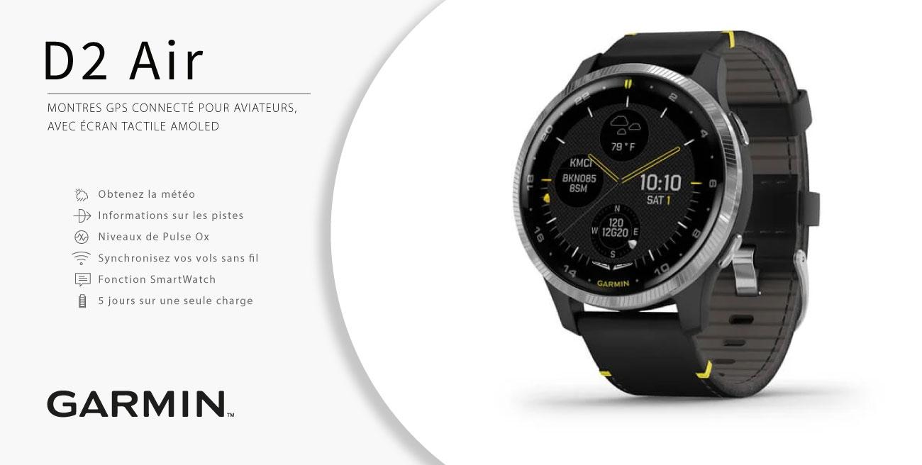 D2 Air, la nouvelle montre de chez Garmin